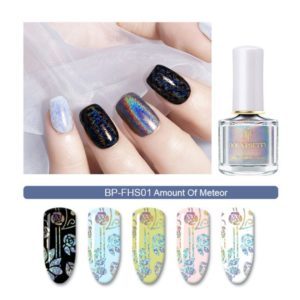 BP Holographic Stamping Polish - Amount of Meteor