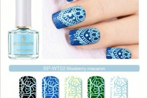 BP Stamping Polish - Blueberry Maracon