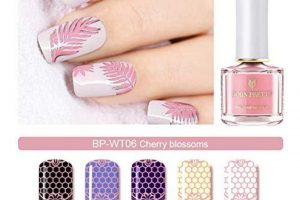 BP Stamping Polish - Cherry Blossoms