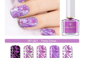 BP Stamping Polish - Party Dress
