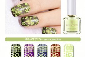 BP Stamping Polish - The Noon Sunshine