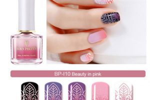 BP Thermal Stamping Polish - Beauty in Pink